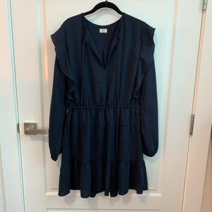 Aritzia Marvelle Dress Navy